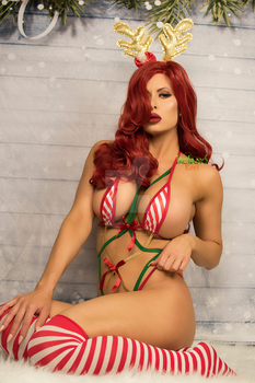 Doe Christmas Jessica Rabbit Set by irelandreid