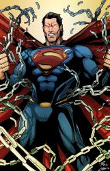 The Man of Steel Unchained by phil-cho