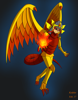 [AT] Winged Dragon Of Ra by Krahler