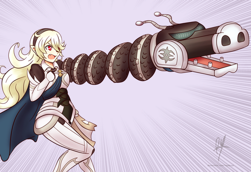 Dragon ARMS Corrin(commission) by RayDango