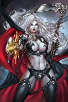 CC LadyDeath Echoes 1'nice', pencils: P.Pantalena by sinhalite