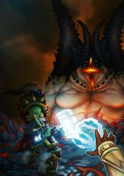 The last fight of Thrall by Guderna