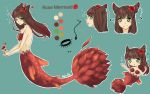 Rose Mermaid Adopt Auction! [CLOSED] by KatyaHam