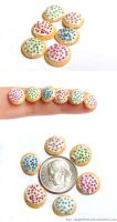 Mini Frosted Sugar Cookies by Bon-AppetEats