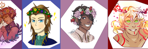 Spring Collab 2017: Flower Crowns! by abluecorridor