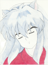Inuyasha by SapphireAngelBunny