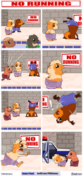 No Running by JoeGPcom