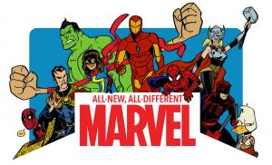 All-New All-Different Marvel - Splash Promo by callmemilo