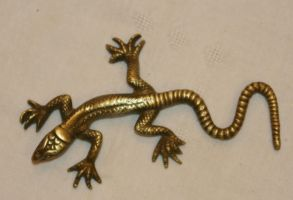 gold jewelry lizard1 by Susannehs