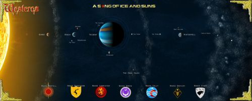WESTEROS STAR SYSTEM by stratomunchkin