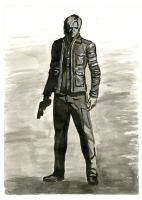 Leon Kennedy - Ink Edition by Nyte-Tyme