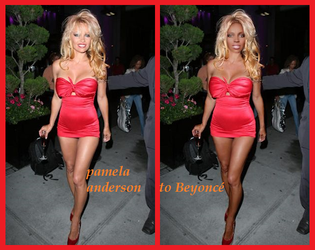 pamela anderson to Beyonce by Attwood3049