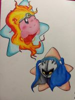 .:Pink and Blue:. by The-Hue-of-Stars