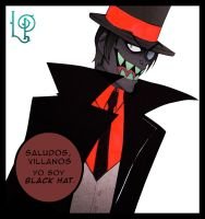 Black Hat - Villainous (Villanos) by MortyMOON