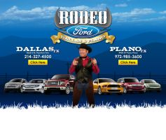 Rodeo Ford Landing Page by tlsivart