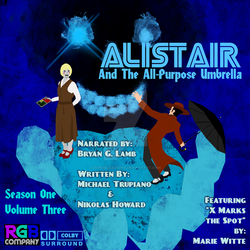 Alistair Season 1 Volume 3 audio book cover by RGPublications