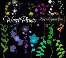 Wierd Plants by Lileya