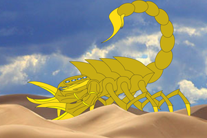 Scorpion of the Sand by Daizua123