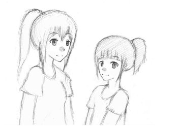 Ayane and Mei!! by LovelyDearyYou