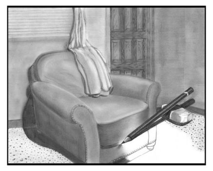 Pencil and Chair by JayGarrick