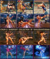 CHUN-LI BAREFOOT COLLECTION by Khaledantar666