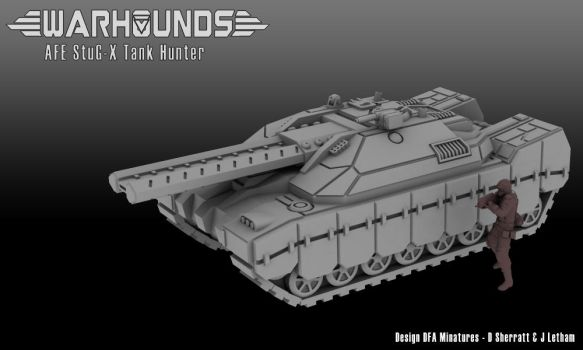 AFE StuG-X Tank Hunter by dsherratt74