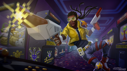 Arcade King Lucian by Markdotea