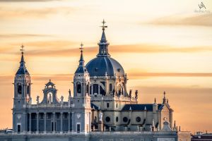 Almudena Cathedral, Madrid #1 by VitoDesArts