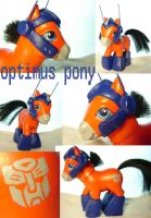 optimus pony by funshinebear