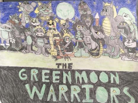 The Green Moon Warriors Poster (description) by GreenWhisp