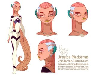Character Design - Tiger Lily by MeoMai