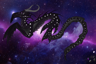 Space Dragon Orion by Hidzia