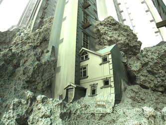 hillhouse - Mandelbulb3D with Parameter and Map by matze2001