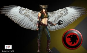 Hawkgirl by TheSnowman10