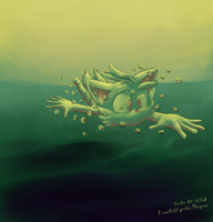 Under the sea, in the afternoon by GaussianCat