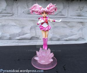 Sailor Moon Crystal Chibimoon Sculpture by Pyramidcat