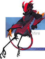 Neon Devil by NebNomMothership