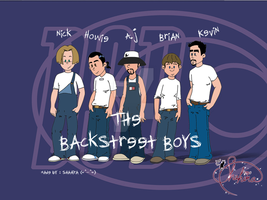 the backstreet boys by witchpowerlove