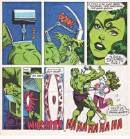 An Edit of She Hulk Scan by DeadpoolDisassembled