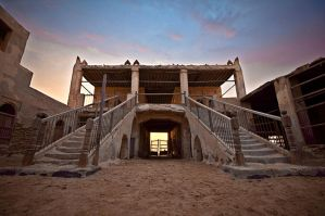 Uqair Fort by Thameralhassan