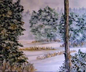 WINTER WOODS by nehab16