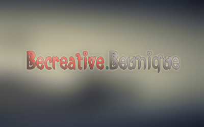 BeCreativeBeUnique by xQlusiveEvan