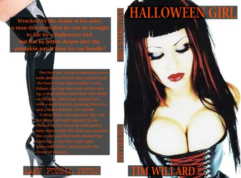 Tim Willard's 'Halloween Girl' by angryinillinois