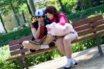 Dipper and Mabel Pines | V by Wings-chan