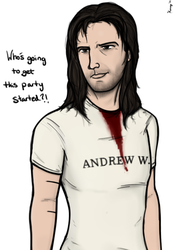 Andrew W. K. by MagicalHoney