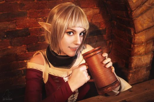 Dragon Age: Inquisition - Sera by lAmikol