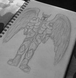 Winged Warrior by StainedShadow1