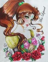 Sailor jupiter portrait by misslepard
