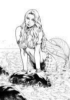 Mermaid Ink by Inker-guy