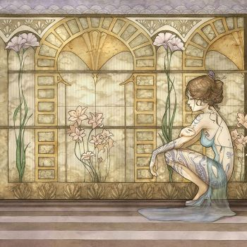 Fairy art deco by annick